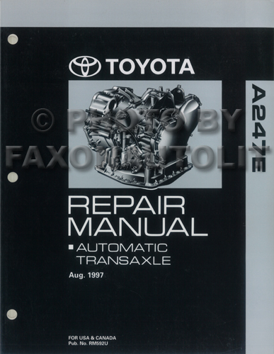 1998 Toyota Rav4 Wiring Diagram Manual Original