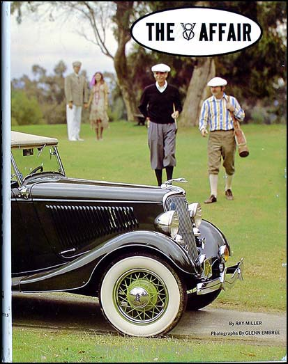 The V8 Affair; Year-by-year History of 1932-1942 Ford Cars HARDBOUND