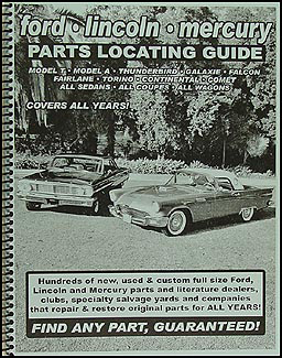Find ANY Ford car Part with this Parts Locating Guide