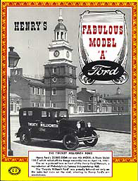 Henry's Fabulous Model A Ford History, Restoration and Wiring Diagrams