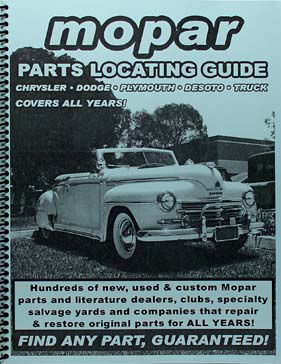 Find ANY Chrysler or Imperial Part with this Parts Locating Guide