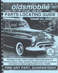 Find ANY Oldsmobile Part with this Parts Locating Guide