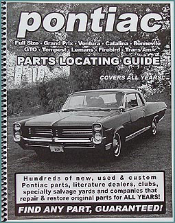 Find ANY Pontiac Part with this Parts Locating Guide